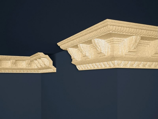 Decorative moulding B-22 BEIGE