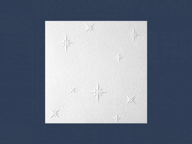WINTER (ZIMA)  overlapping ceiling tile