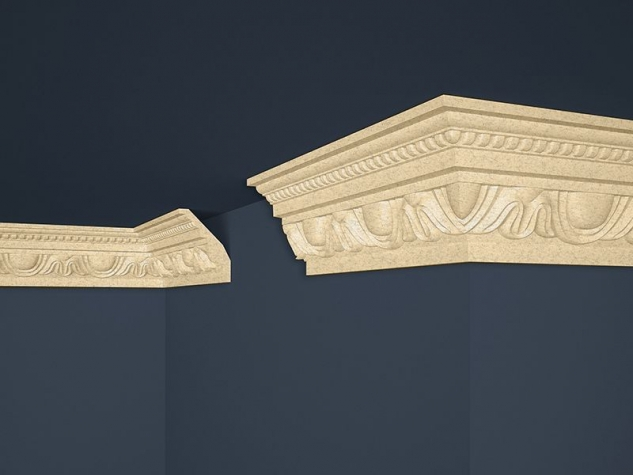 Decorative moulding B-24 BEIGE