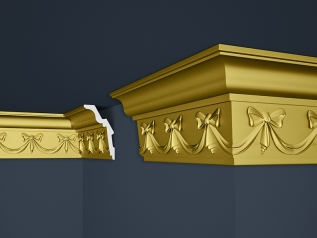 Decorative moulding B-29SG