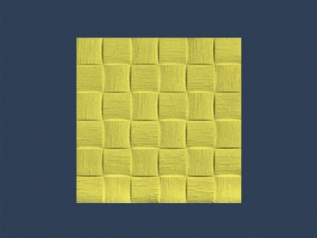 FLAX (LEN) YELLOW butting ceiling tile