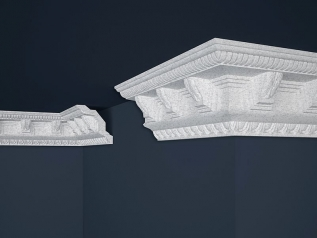 Decorative moulding B-22 GRAY