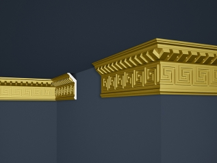 Decorative moulding B-25SG