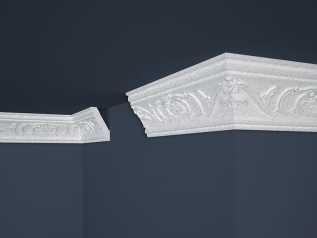 Decorative moulding B-26 GRAY