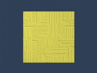 NORMA 2 YELLOW butting ceiling tile