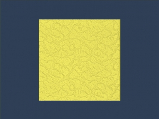 BRYZA YELLOW overlapping ceiling tile