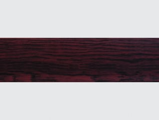 LI-1 elastic skirting board Mahogany