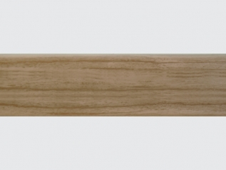 LI-1 elastic skirting board Antique Oak